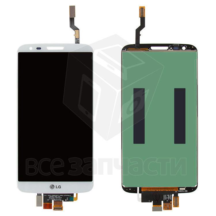 Фото - Дисплейный модуль LG G2 D800, G2 D801, G2 D803, LS980, VS980, белый,