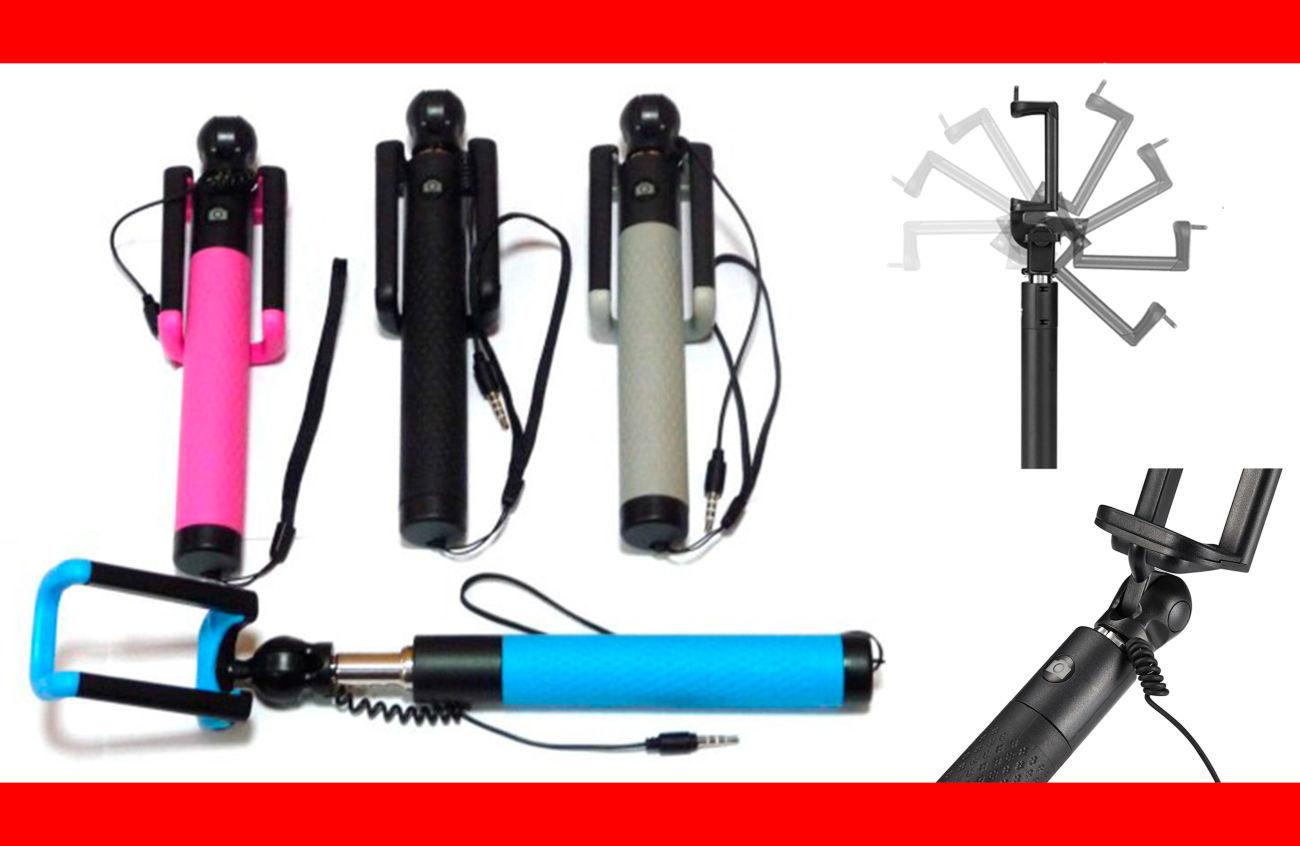 Фото - Надежные селфи палки D12S c фиксатором положения, 4 цвета моноподов
