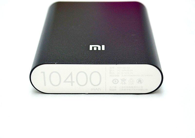 Фото 8 - Портативный аккумулятор Power bank Xiaomi 10400 mAh 4 цветов