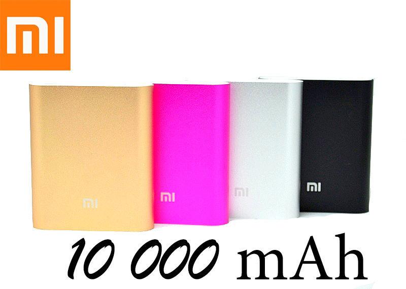 Фото 7 - Портативный аккумулятор Power bank Xiaomi 10400 mAh 4 цветов