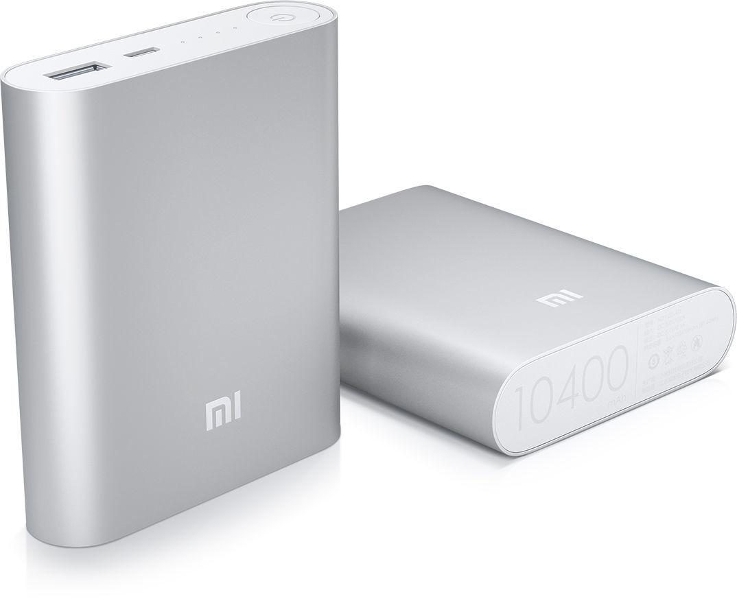 Фото 2 - Портативный аккумулятор Power bank Xiaomi 10400 mAh 4 цветов
