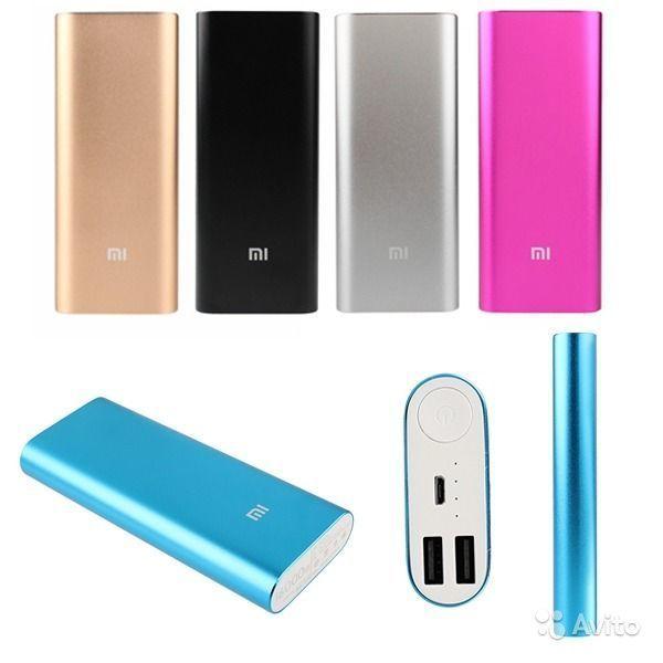 Фото 3 - Портативный аккумулятор Power bank Xiaomi 16000 mAh 2 USB