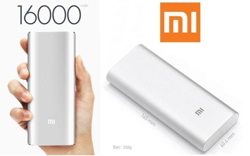 Фото 4 - Портативный аккумулятор Power bank Xiaomi 16000 mAh 2 USB