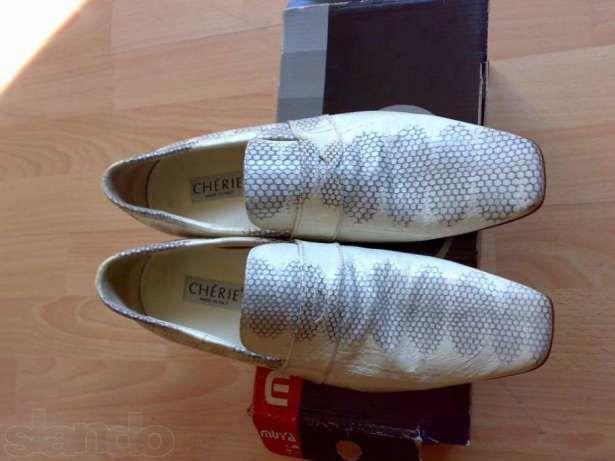 Фото 4 - Итальянские туфли размер 39