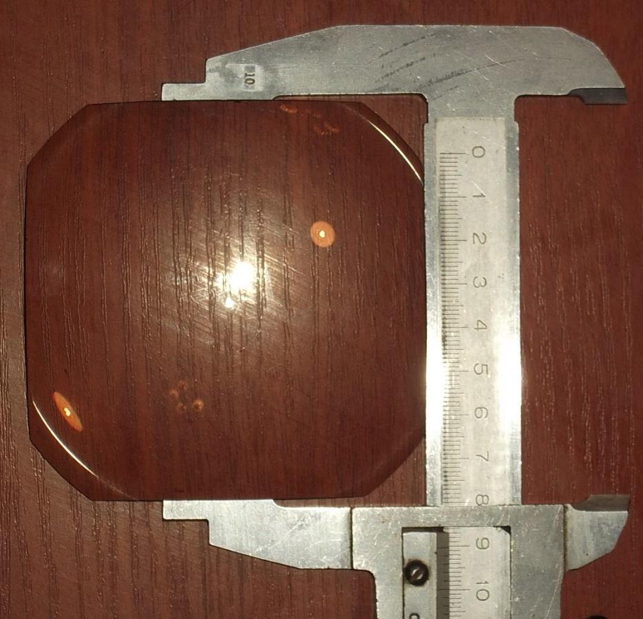 Фото 6 - Линза плоско выпуклая равносторонняя