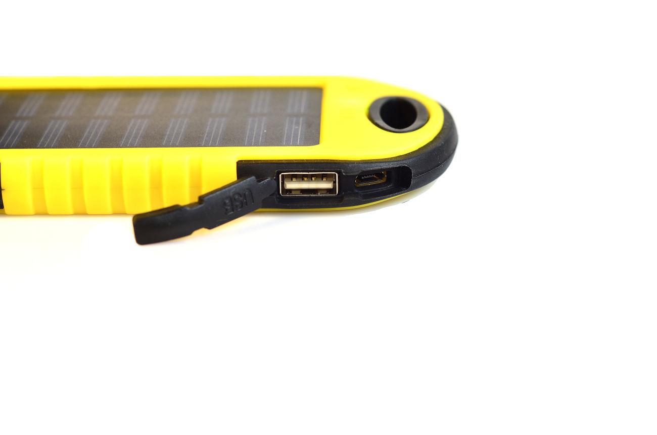 Фото 3 - Power Bank 20000 Solar 2 USB Led солнечная батарея повар банк павер