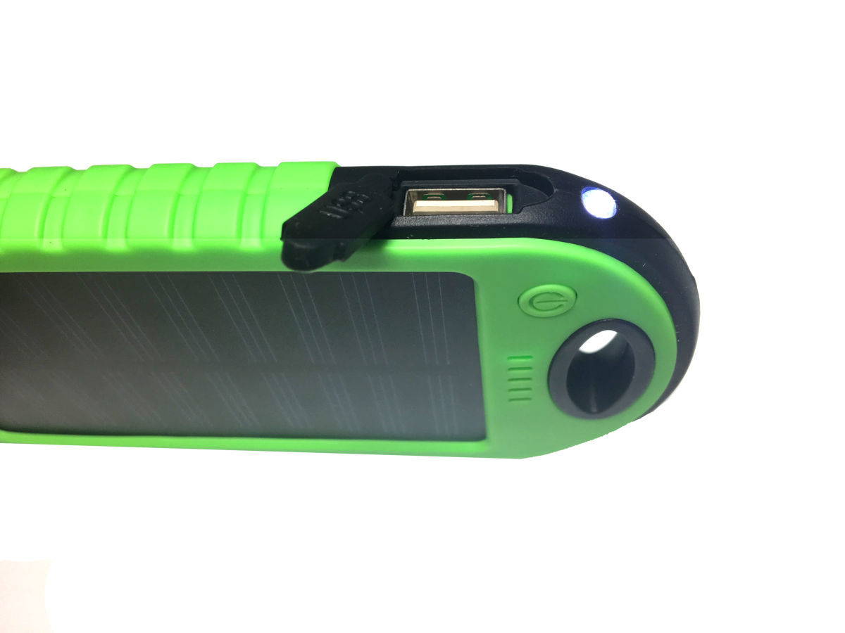 Фото 7 - Power Bank 20000 Solar 2 USB Led солнечная батарея повар банк павер