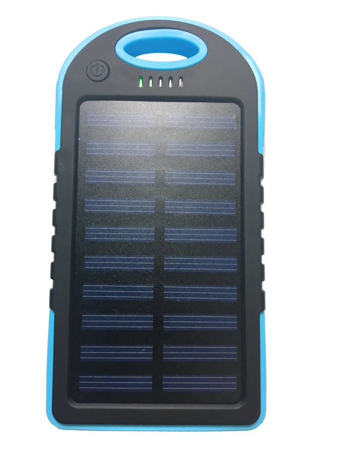 Фото 8 - Power Bank 20000 Solar 2 USB Led солнечная батарея повар банк павер