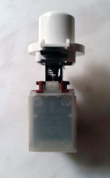 Фото 2 - Кнопка смены режимов для стиральной машины Whirlpool.