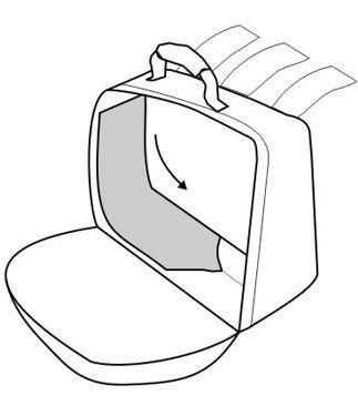 Фото 4 - Сумки текстильные боковые OJ SIDE BAGS (M034)