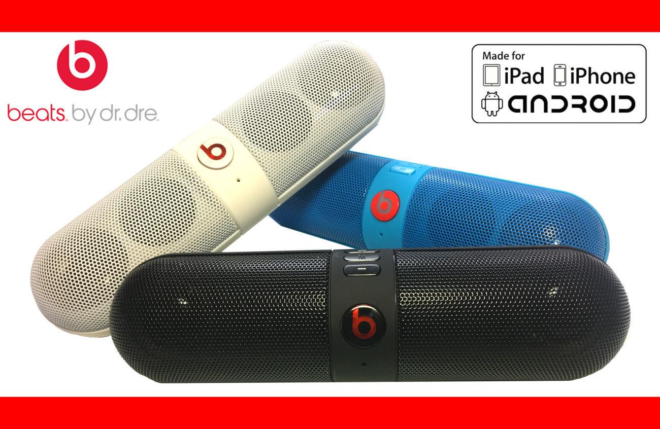 Фото - Портативная музыкальная колонка Beats Pill Bluetooth 5-8 часов звучани