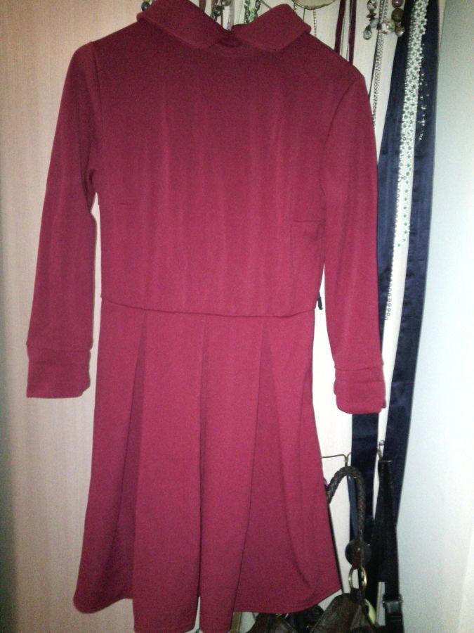 Фото 3 - Платье с воротничком