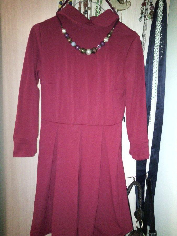 Фото 4 - Платье с воротничком