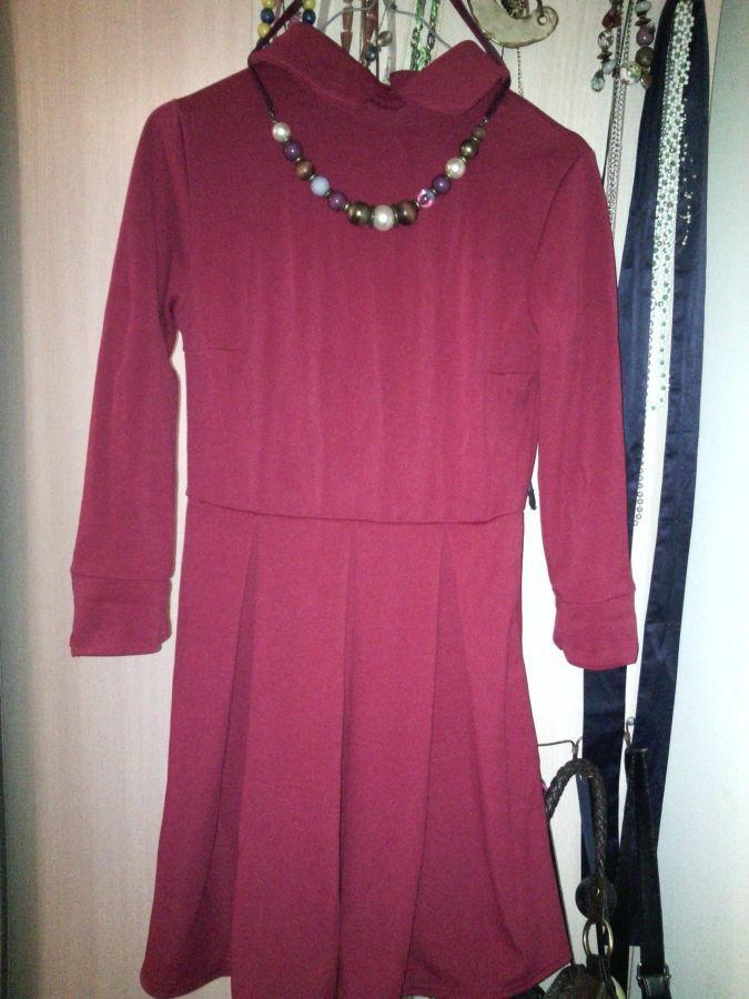 Фото - Платье с воротничком