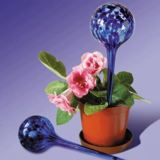 Фото - Шар для полива растений Аква глоб 2шт. Колбы для полива растений