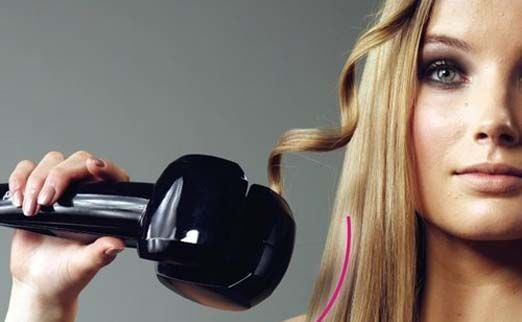 Фото 2 - Плойка автоматическая BaByliss Perfect Curling укладка волос локонами