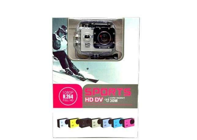 Фото - Экшн камера A7 Sport + Аквабокс+Крепление на руль/шлем+защита