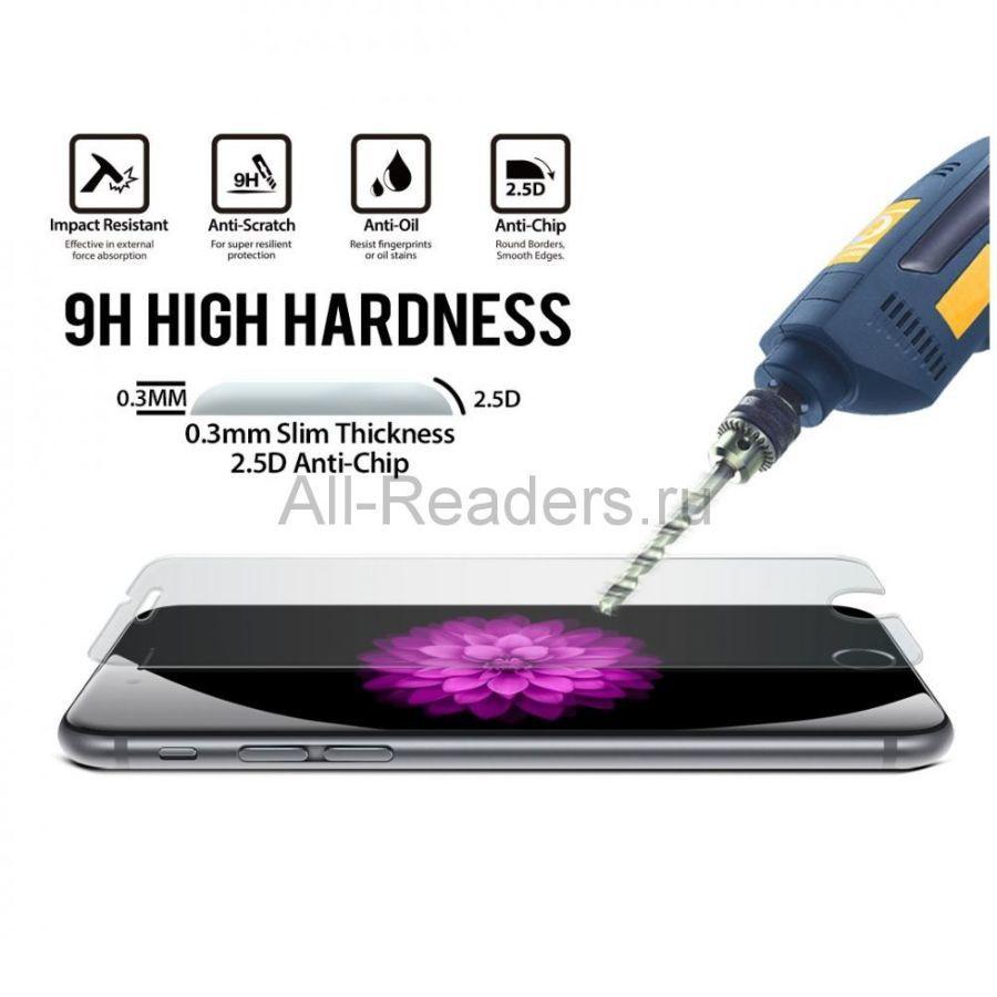 Фото 2 - Защитное стекло на iPhone 4/4s/5/5S/5C/6/6+ Качество