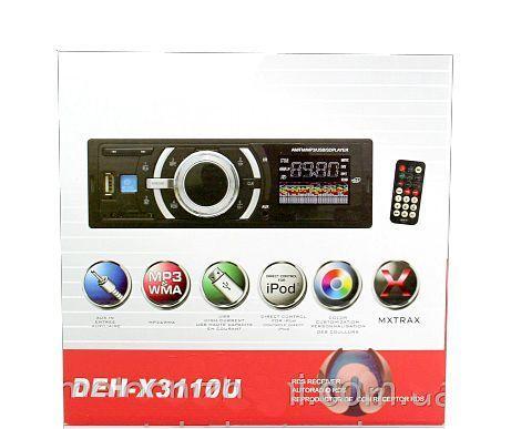 Фото 2 - Автомагнитола DEH- 3110 USB MP3 AUX FM