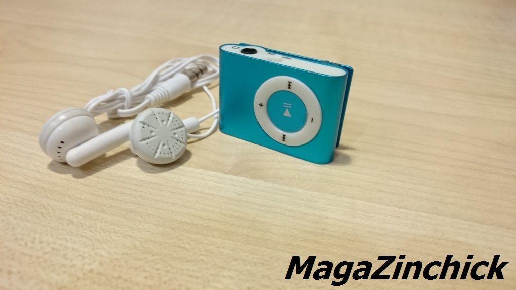 Фото 7 - MP3 плеер на клипсе МР3 player, аудиоплеер microSD копия Ipod