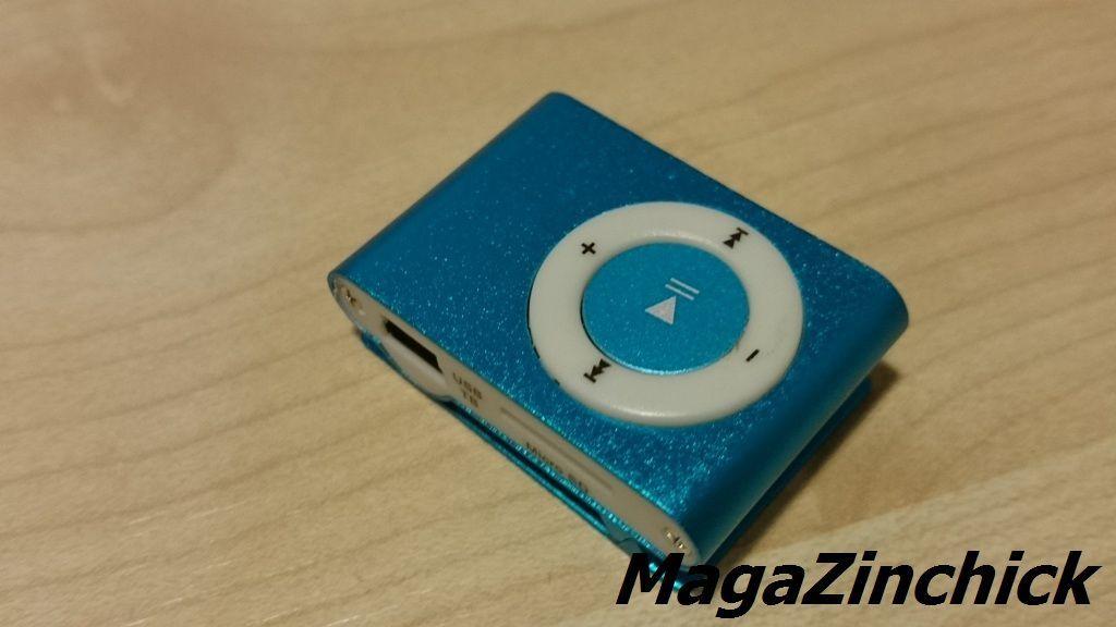 Фото 4 - MP3 плеер на клипсе МР3 player, аудиоплеер microSD копия Ipod