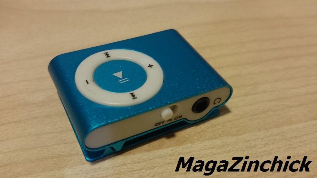 Фото 9 - MP3 плеер на клипсе МР3 player, аудиоплеер microSD копия Ipod