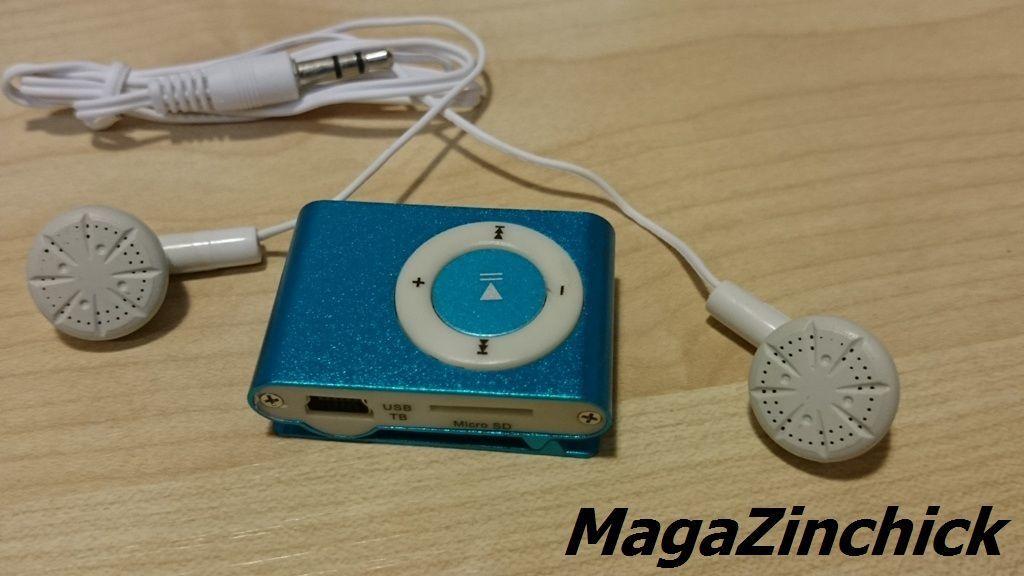 Фото 8 - MP3 плеер на клипсе МР3 player, аудиоплеер microSD копия Ipod