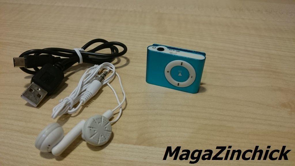 Фото 2 - MP3 плеер на клипсе МР3 player, аудиоплеер microSD копия Ipod