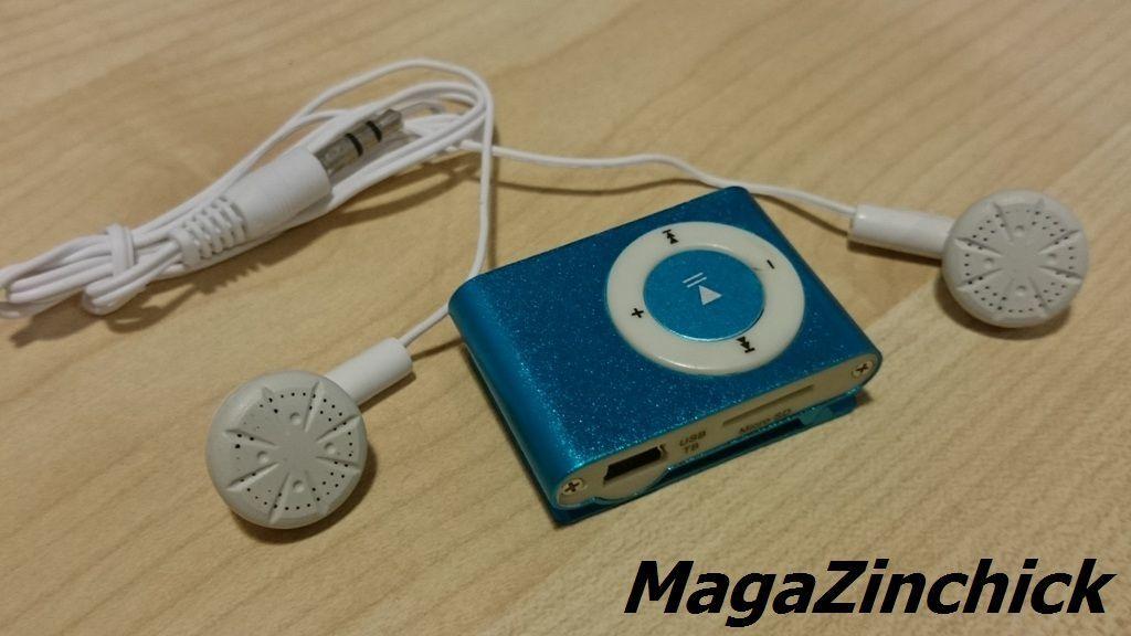Фото 3 - MP3 плеер на клипсе МР3 player, аудиоплеер microSD копия Ipod