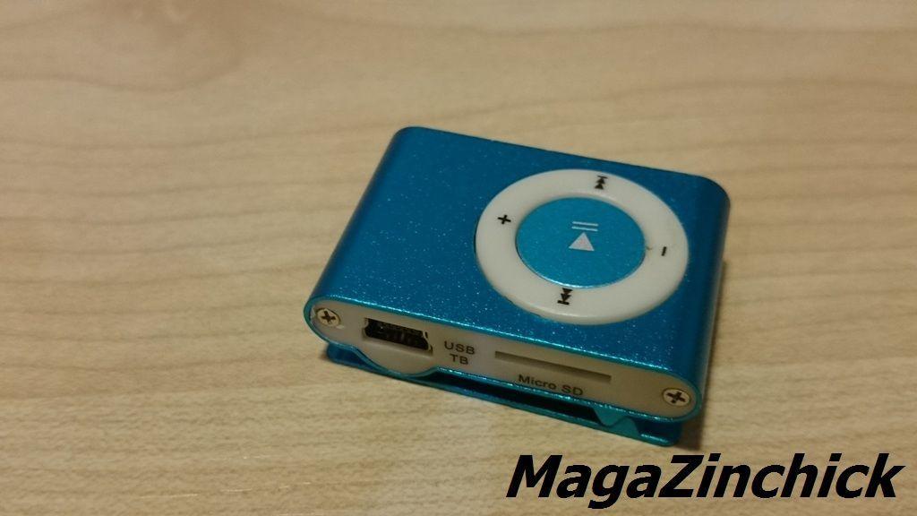 Фото 5 - MP3 плеер на клипсе МР3 player, аудиоплеер microSD копия Ipod