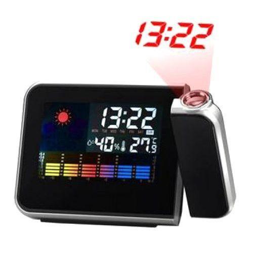 Фото - Часы с метеостанцией и проектором