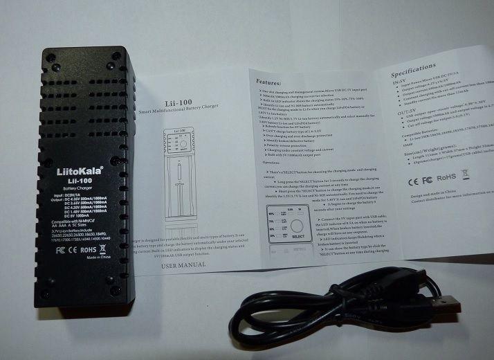 Фото 2 - Универсальная зарядка + Power Bank LiitoKala Lii-100