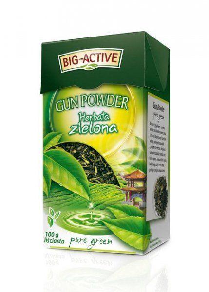 Фото - Чай зеленый Big-active листовой, 100 грамм
