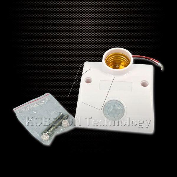 Фото 3 - Патрон с датчиком движения для лампочки E27