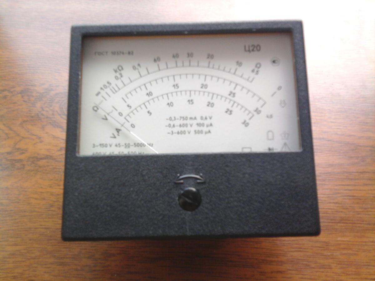 Фото 2 - Продаю мултиметер Ц20 производства СССР не бил в использовании