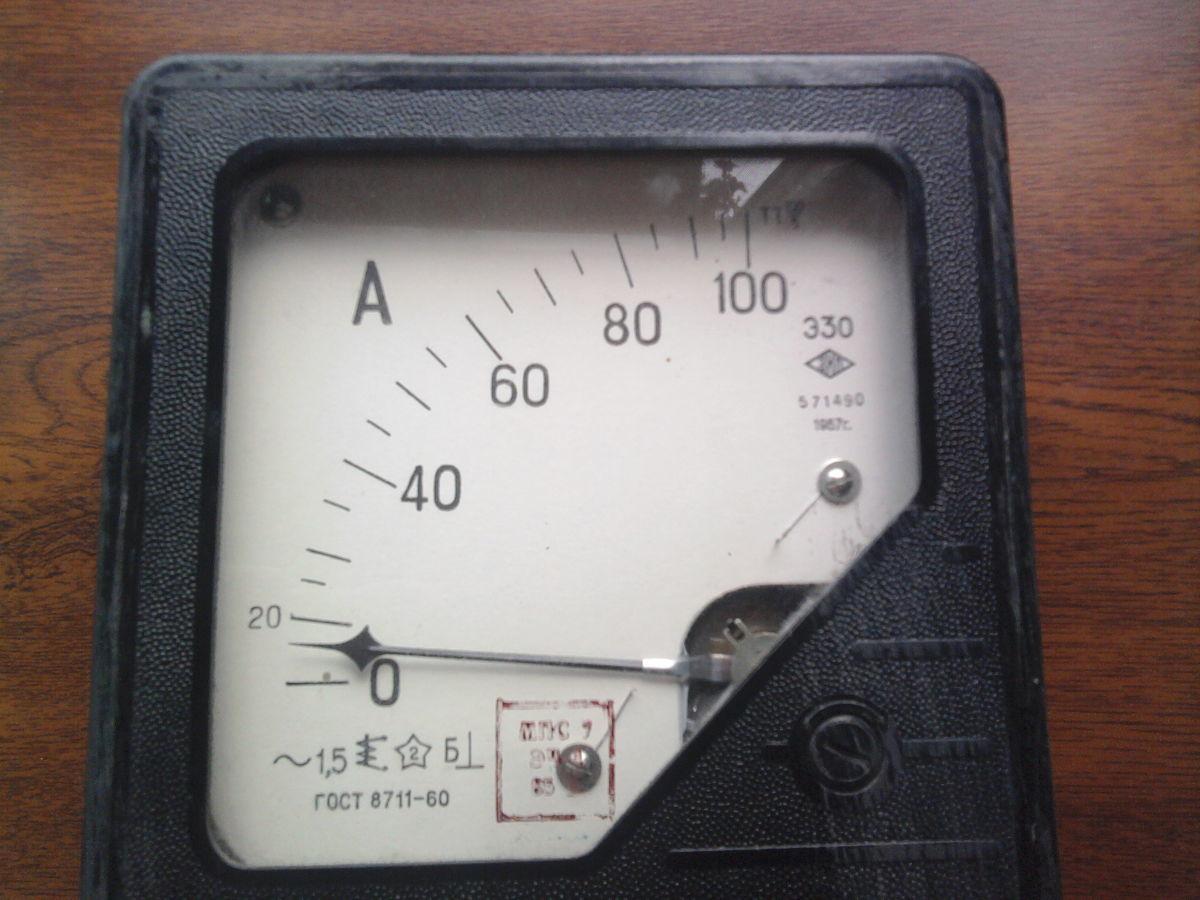 Фото - Продам амперметр Э30 переменного тока. производцтво СССР