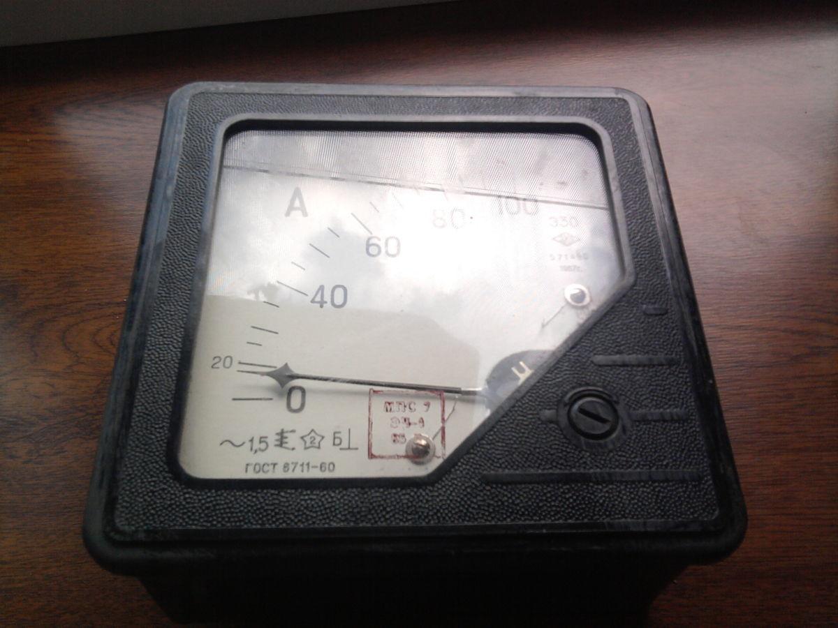 Фото 2 - Продам амперметр Э30 переменного тока. производцтво СССР