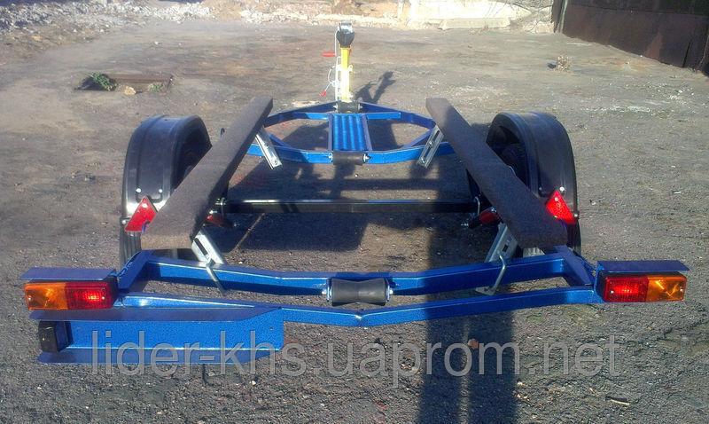 Фото 4 - Лидер лафет для перевозки лодок Малыш 4.20м Люкс