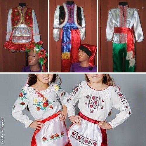 Фото 8 - костюмы овощей и фруктов, украинские костюмы