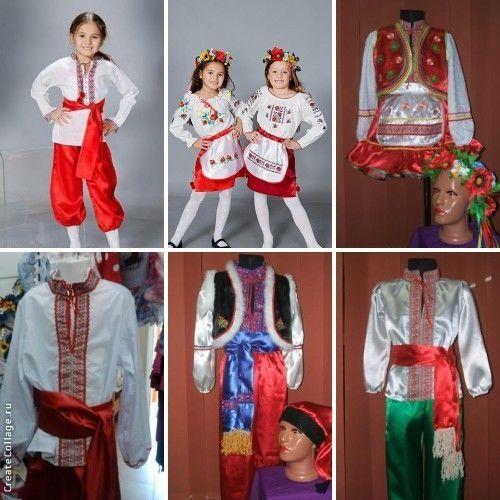 Фото 4 - костюмы овощей и фруктов, украинские костюмы