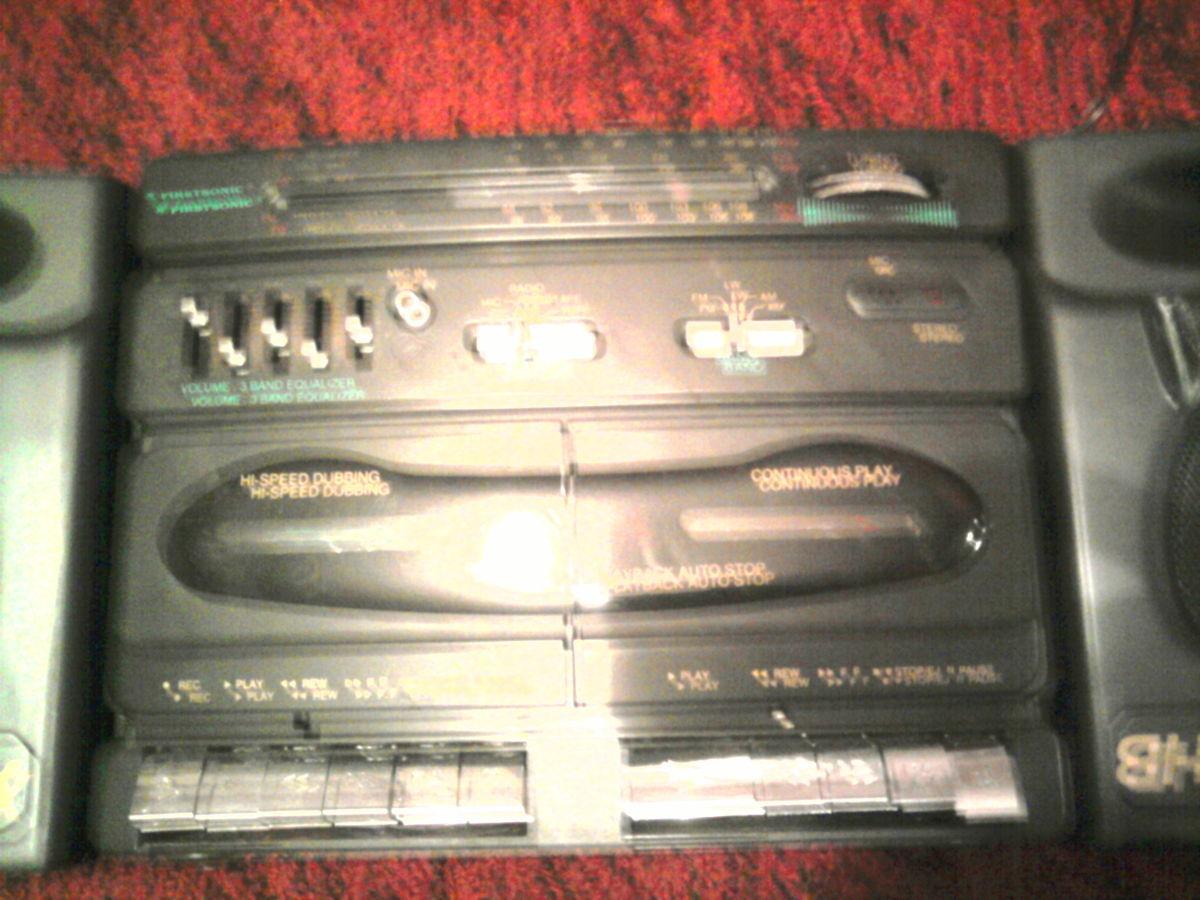 Фото 4 - Продаю магнитофон, в хорошим состоянии, колонки сйомние