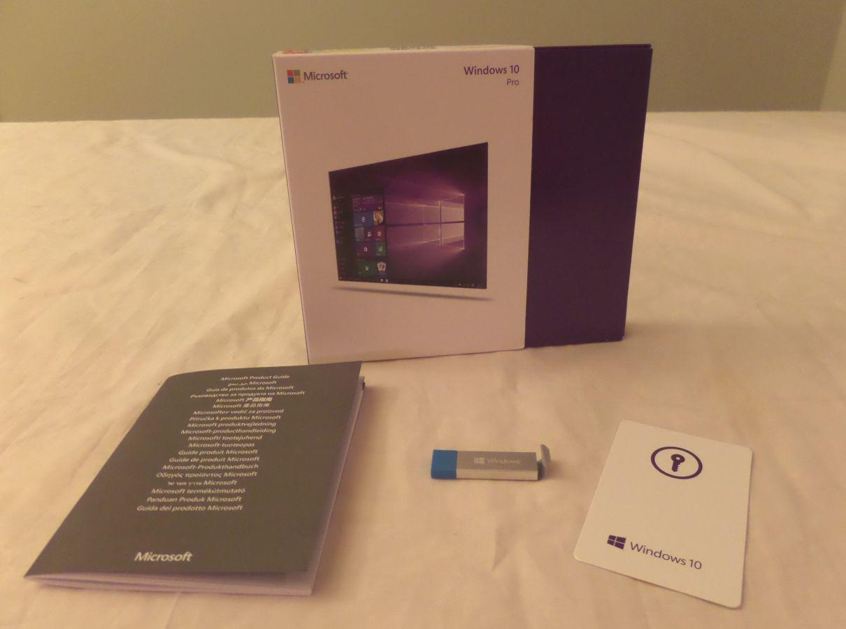 Фото 3 - Microsoft Windows 10 Pro Full 64 & 32 Bit SKU Fqc-08788 USB