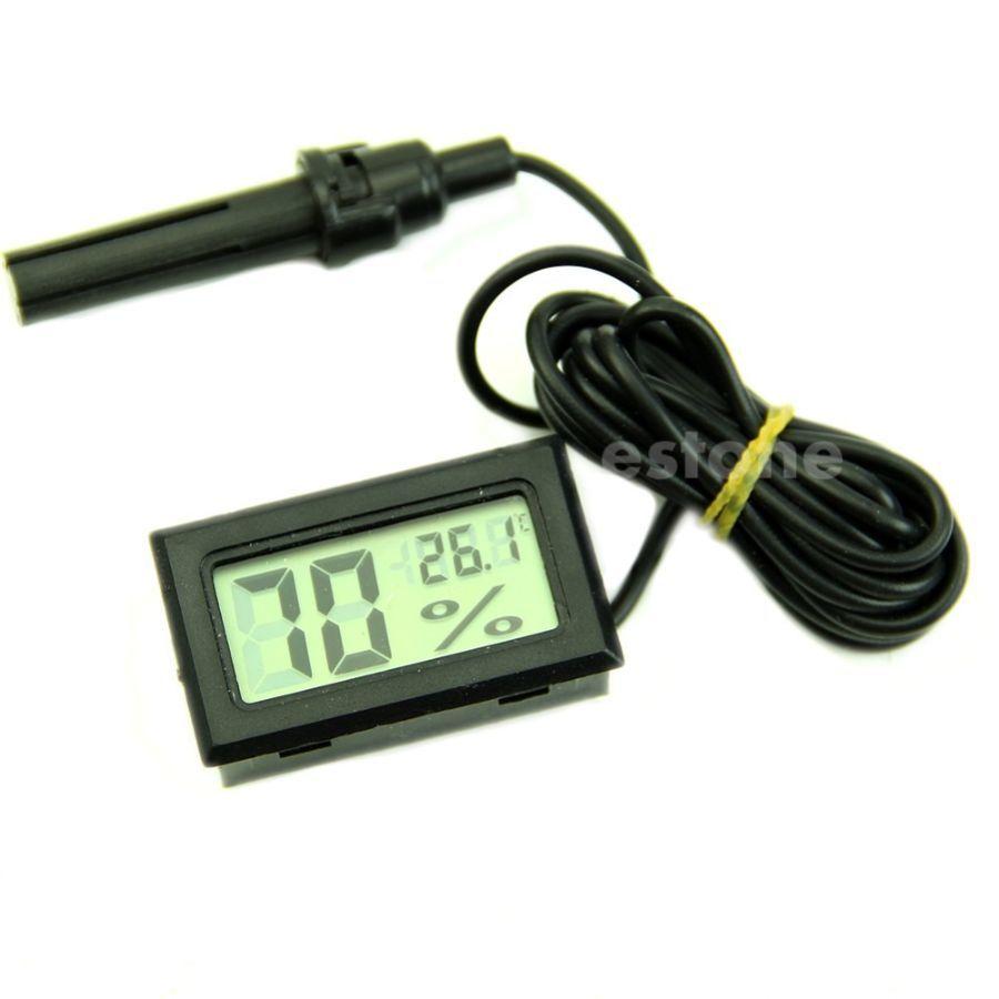 Фото - Термометр с гигрометром и выносным датчиком