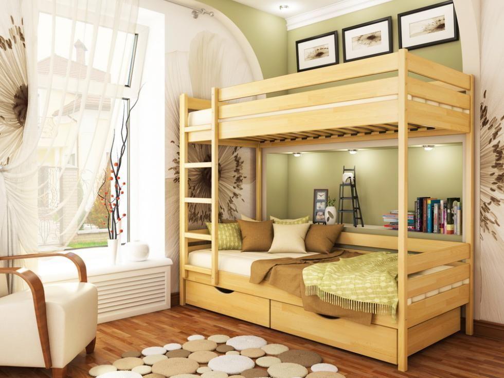 Фото - Кровать двухъярусная Дуэт