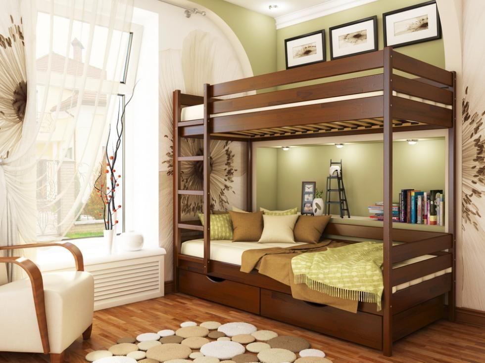 Фото 8 - Кровать двухъярусная Дуэт
