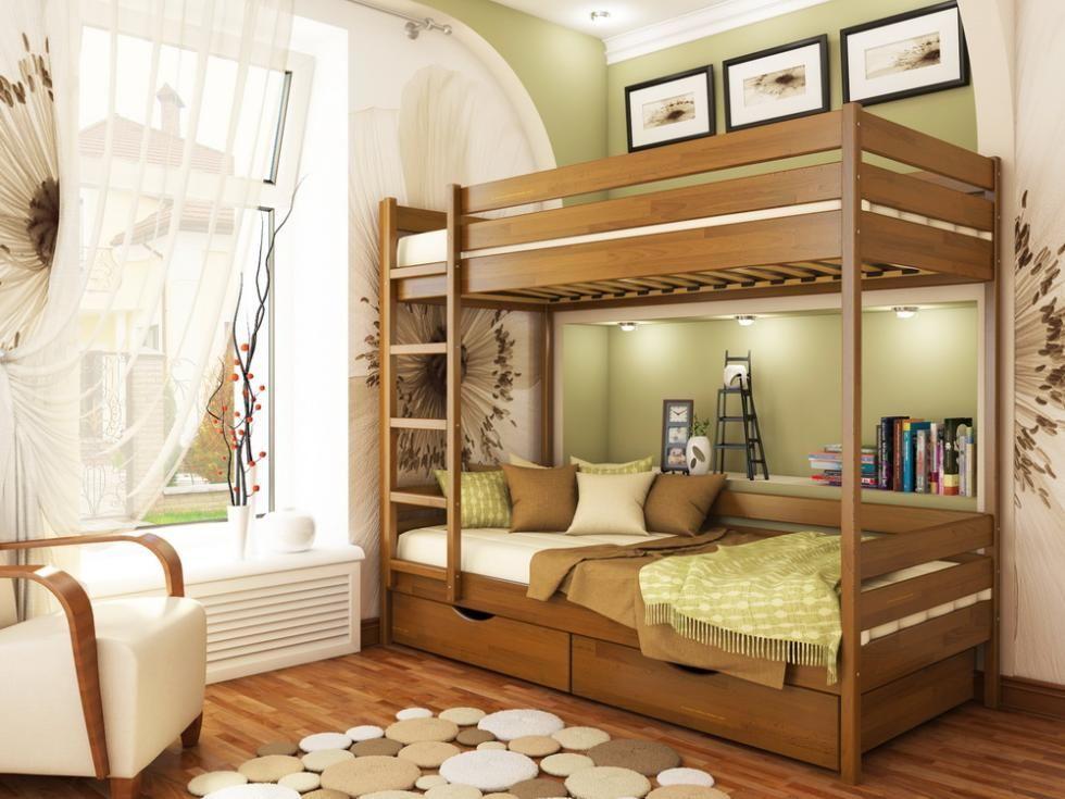 Фото 3 - Кровать двухъярусная Дуэт