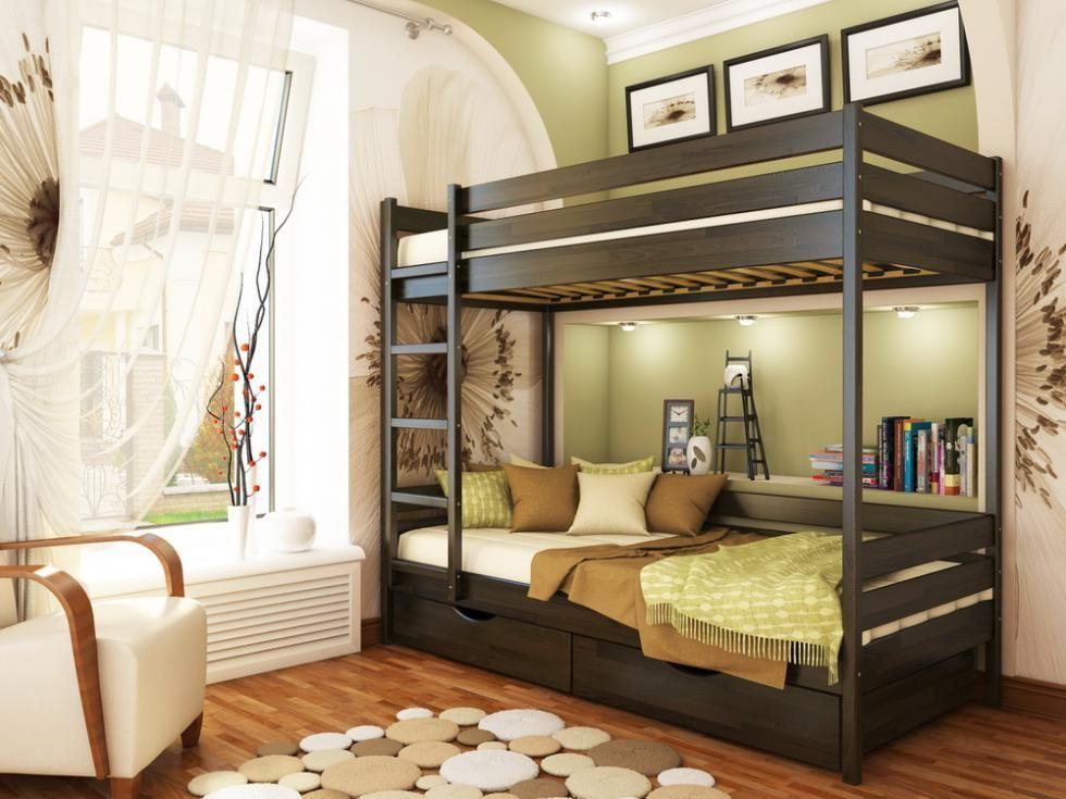 Фото 6 - Кровать двухъярусная Дуэт
