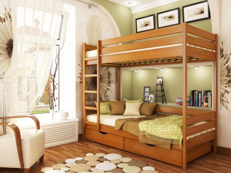 Фото 5 - Кровать двухъярусная Дуэт