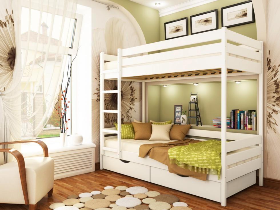 Фото 7 - Кровать двухъярусная Дуэт