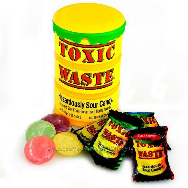 Фото - Самые кислые конфеты в мире Toxic Waste Токсик Вейст, Джелли Белли
